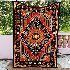 Indian Decor Mandala Tapestry Wall Hanging Hippie Throw Bohemian Twin Bedspread-