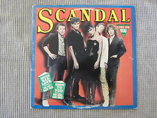 SCANDAL  VINYL RECORD LP / 1982 ~ LOVE'S GOT A LINE ON YOU & MORE