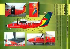 Model Maker Decals 1/72 LET L-410 PARROT TURBOLET Transport