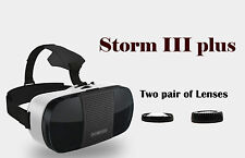 Storm III Plus VR Goggles with magnet, compatible with Google Cardboard App.