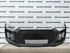 AUDI R8 V10 2016- FRONT BUMPER IN BLACK NEW AND FULLY COMPLETE GENUINE [A265]