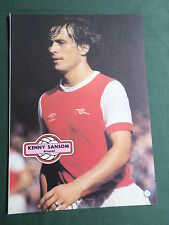 KENNY SANSOM - ARSENAL -1 PAGE PICTURE- CLIPPING/CUTTING
