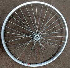 Front Wheel 26 in Alloy Alex Rim Nutted Axle Hub for Mountain Comfort Bike