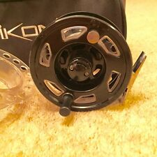 IKONIX #7/8 CASSETTE Fly Reel Set with FOUR spools & Reel case NEW & UNUSED