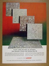 1968 Azrock Alvarado Vinyl-Asbestos Floor Tile flooring vintage print Ad