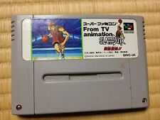 Slam Dunk Super Famicom Japan NTSC-J Nintendo From TV Animation
