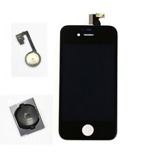 For iPhone 4 BALCK LCD Dispaly Touch Screen Digitizer Assembly Home Button MZSK