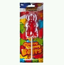Giant gummy bear sweets gift birthday boy girl 227g huge party candy bar present