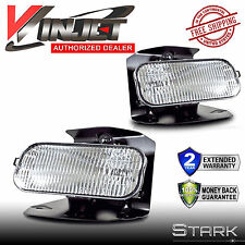 1999-2003 Ford F-150 F150 Fog Lights Clear Lens Front Driving Lamps - PAIR