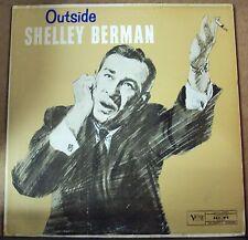 SHELLEY BERMAN Outside LP OOP late-50's Verve mono