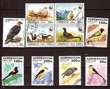 AZERBADJAN   les differentes especes d'oiseaux H214
