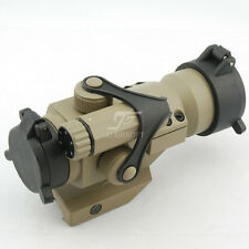 JJ Airsoft M2 Red Dot with Cantilever Mount (Tan)