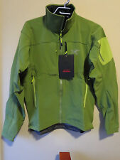 Mens New Arcteryx Gamma MX Jacket Size Medium Color Twinleaf Authentic