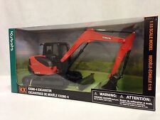 KUBOTA KX080-4 EXCAVATOR 1:18 Scale BY NEW RAY TOYS ORANGE