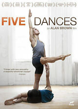 Five Dances (DVD, 2014) Gay Interest, Alan Brown Film