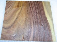"Rosewood South American Santos wood veneer 6"" x 5"" raw no backer  1/42"" thick"