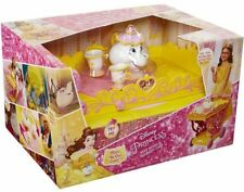 Disney Princess Belle Musical Tea Party Cart, Girls Beauty and the beast teacart