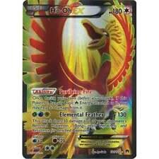 Pokemon XY Breakpoint Ho-Oh-EX - 121/122 - Full Art Ultra Rare