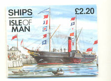 Isle of Man-Ships £2.20 booklet mnh