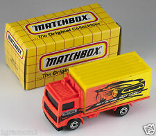 Matchbox MB 23 Volvo Container Truck Get In The Fast Lane China 1995 MIB