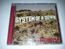 cd musica rock system of a down toxicity