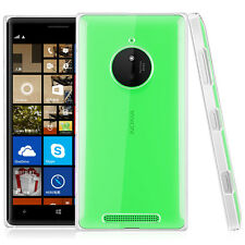 Rigid Plastic Slim Clear Crystal Hard PC Case Cover Skin For Nokia Lumia 830