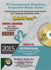 P2 Commercial Plumbing Inspector QuickPass Study Guide Based on 2015 IPC & 2015