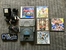 PC Engine Core Grafx Console Game System + Ten no Koe 2 + Games - PCE - Nec