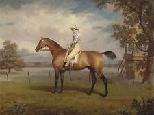 Pintura Animal Sport Horse Racing Garrard Caballo De Carreras Disguise Art Print lah471a