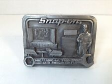 Snap-On Tools Professional Technician and Proud of it Wrench Metal Belt Buckle
