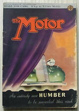 The MOTOR Magazine 21 Sept 1937 DKW Saloon Road Tested SS Ford FIAT Alvis 14