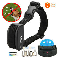 Electric Anti Bark No Barking Tone Shock Training Collar for Small Pet Dog NEW