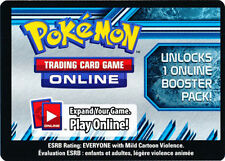 10x Pokemon Online Plasma Storm Promo Code Card for OTCG Booster Packs