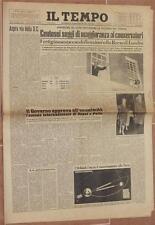IL TEMPO 10 OTTOBRE 1959 TORIES ORBITNIK MASSIMO BALDELLI BASTIA UMBRA ASSISI
