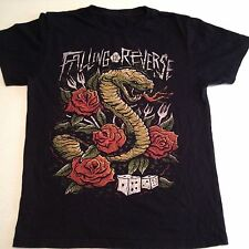 Falling in Reverse Adult T-Shirt Size Medium Dice & Cobra Red Roses Band Logo