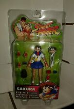SOTA Toys Street Fighter Sakura Round 3 MOSC unopened - Player 1