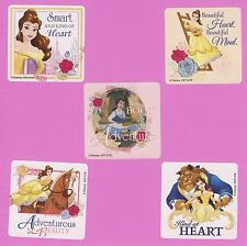 15 Beauty and the Beast- Large Stickers - Party Favors - Disney Princess Belle