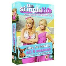 The Simple Life Season 1+2+3+4+5 Complete TV Series 1-5 Region 2 New