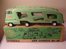 Vintage Tonka Car Carrier NO. 96 & Original Box
