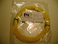 Fiber Optic Patchcord 10 Meter SC/APC–SC/UPC FIS 9/125 Singlemode New in Bag