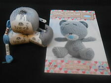 DMC Tatty Teddy UNCINETTO KIT-Crochet Hook non incluso