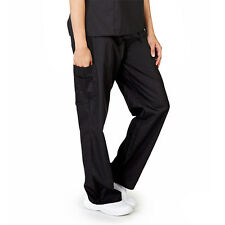 Unisex Men/Women Cargo Scrub Pants Petite Size Medical Hospital Nursing Uniform