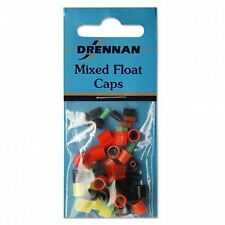 DRENNAN MIXED FISHING FLOAT CAPS SILICONE RUBBERS 5 SIZES & VARIOUS COLOURS