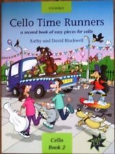 CELLO TIME RUNNERS with CD   easy music tutor book