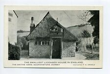 England Godmanstone Dorset, Smiths's Arms, Smallest Licensed House in England