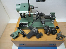 Anrä & Zwingenberg  8 mm with accessories in  wooden  box  watchmakers  lathe