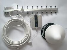 3G WCDMA 2100Mhz  phone Signal Repeater Amplifier YAGI with ceiling antenna kit