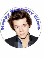 7.5 HARRY STYLES EDIBLE ICING BIRTHDAY CAKE TOPPER