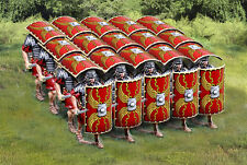 THE COLLECTORS SHOWCASE ROME 43AD 12 PIECE ROMAN TESTUDO SET MB