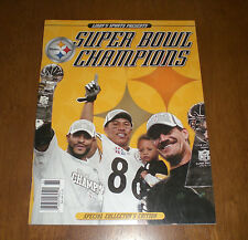 STEELERS SUPER BOWL XL CHAMPIONS LINDY'S SPORTS MAGAZINE